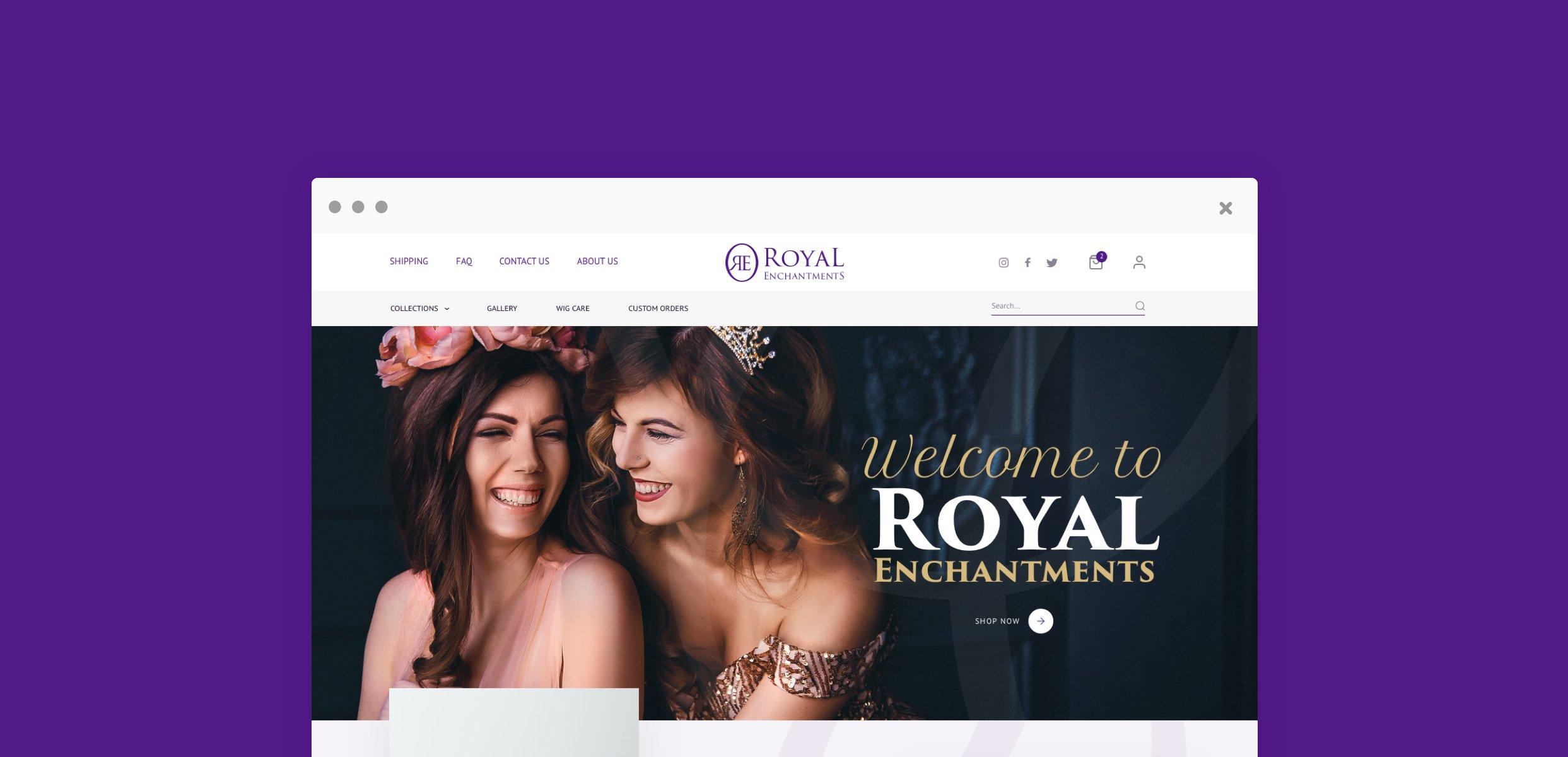 Maddox & Marie Website Image